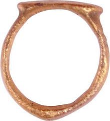 ROMAN MAN'S RING 2nd-5th CENTURY AD