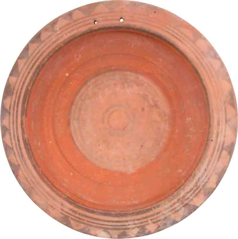 FINE CYPRIOT TERRACOTTA BOWL