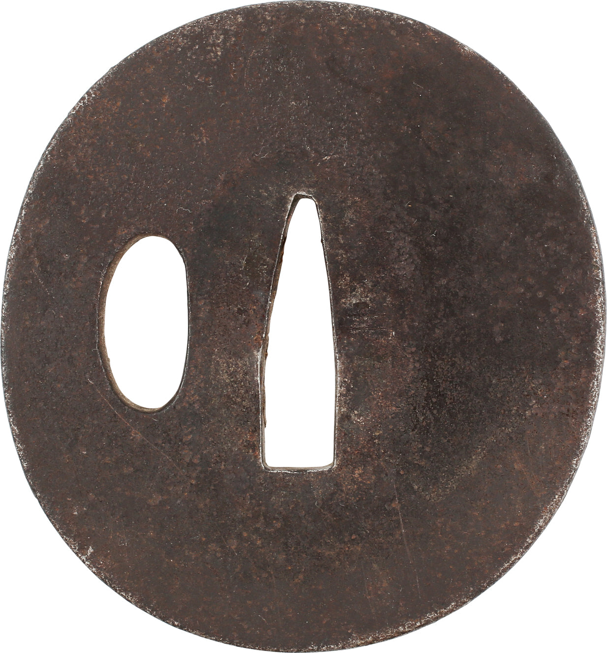 JAPANESE SWORD GUARD, TSUBA, EDO PERIOD, 18TH-19TH CENTURY