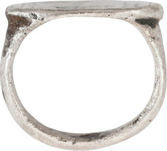 LATE ROMAN/MEDIEVAL WOMAN'S RING 5TH-8TH CENTURY SIZE 3 ½