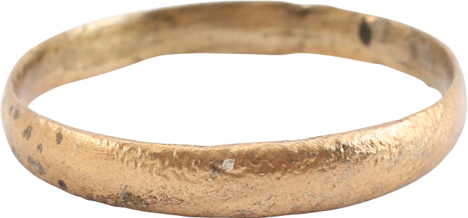 VIKING WARRIOR'S WEDDING RING SIZE 10 ¾