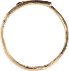 VIKING COIL RING, 10th-11th CENTURY AD, SIZE 12 ¾