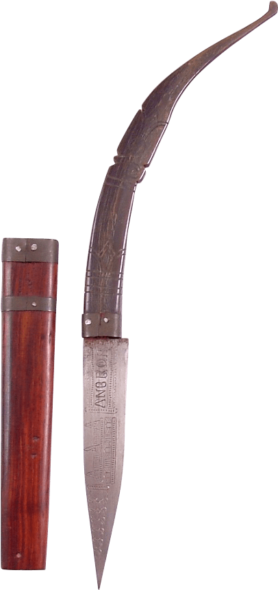 CAMBODIAN BELT KNIFE