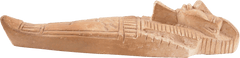 EGYPTIAN CARVED STONE FIGURE OF A SARCOPHAGUS - Fagan Arms