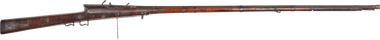 VERY RARE TWO SHOT SUPERIMPOSED INDO-PERSIAN MATCHLOCK MUSKET