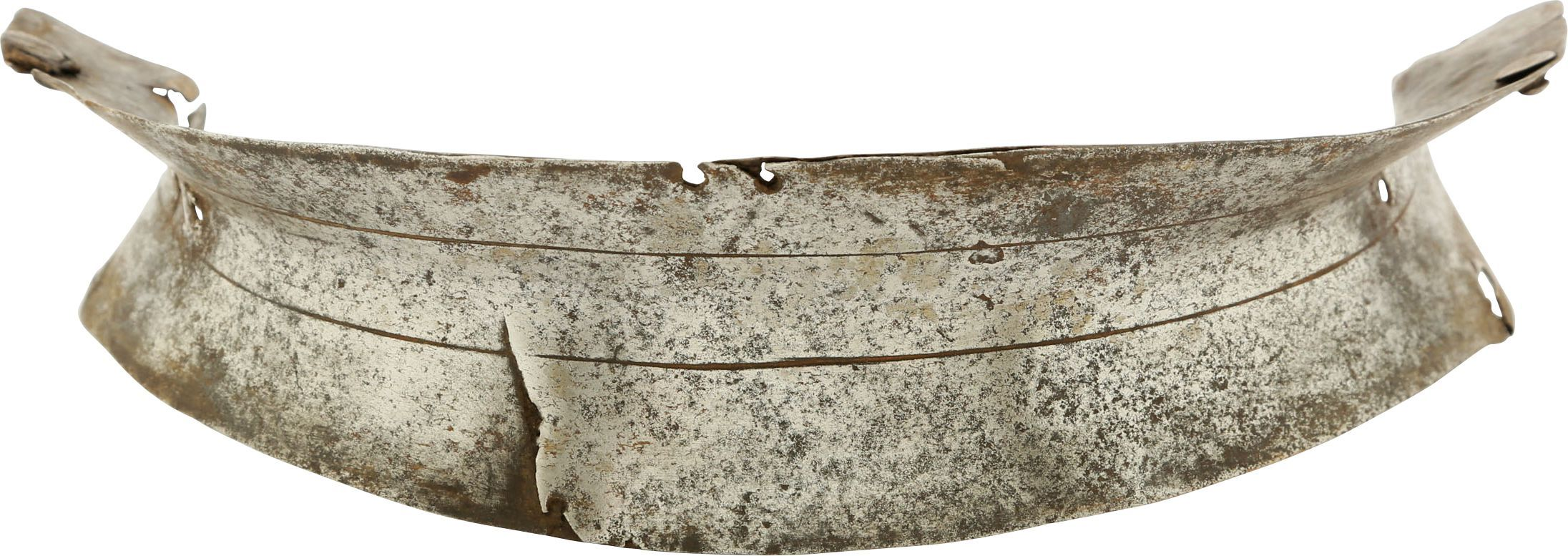 WAIST PLATE FROM A GERMAN ARMOR OF ABOUT 1520-30 - Fagan Arms