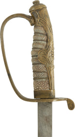 CHINESE OFFICER'S SWORD, LATE 19th-EARLY 20th CENTURY