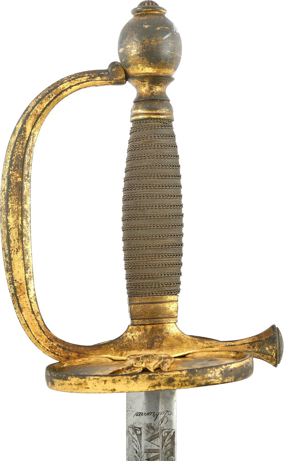 SICILIAN OFFICER'S SWORD