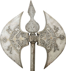 LARGE PERSIAN BATTLE AXE
