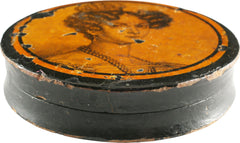 ENGLISH SNUFF BOX, REGENCY/NAPOLEONIC PERIOD