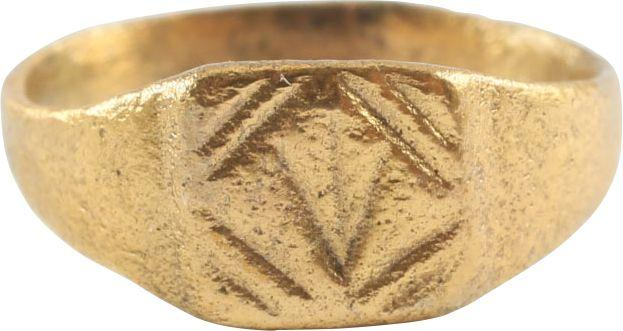 Late Roman Byzantine Childs Ring C.5Th-8Th Century - Product