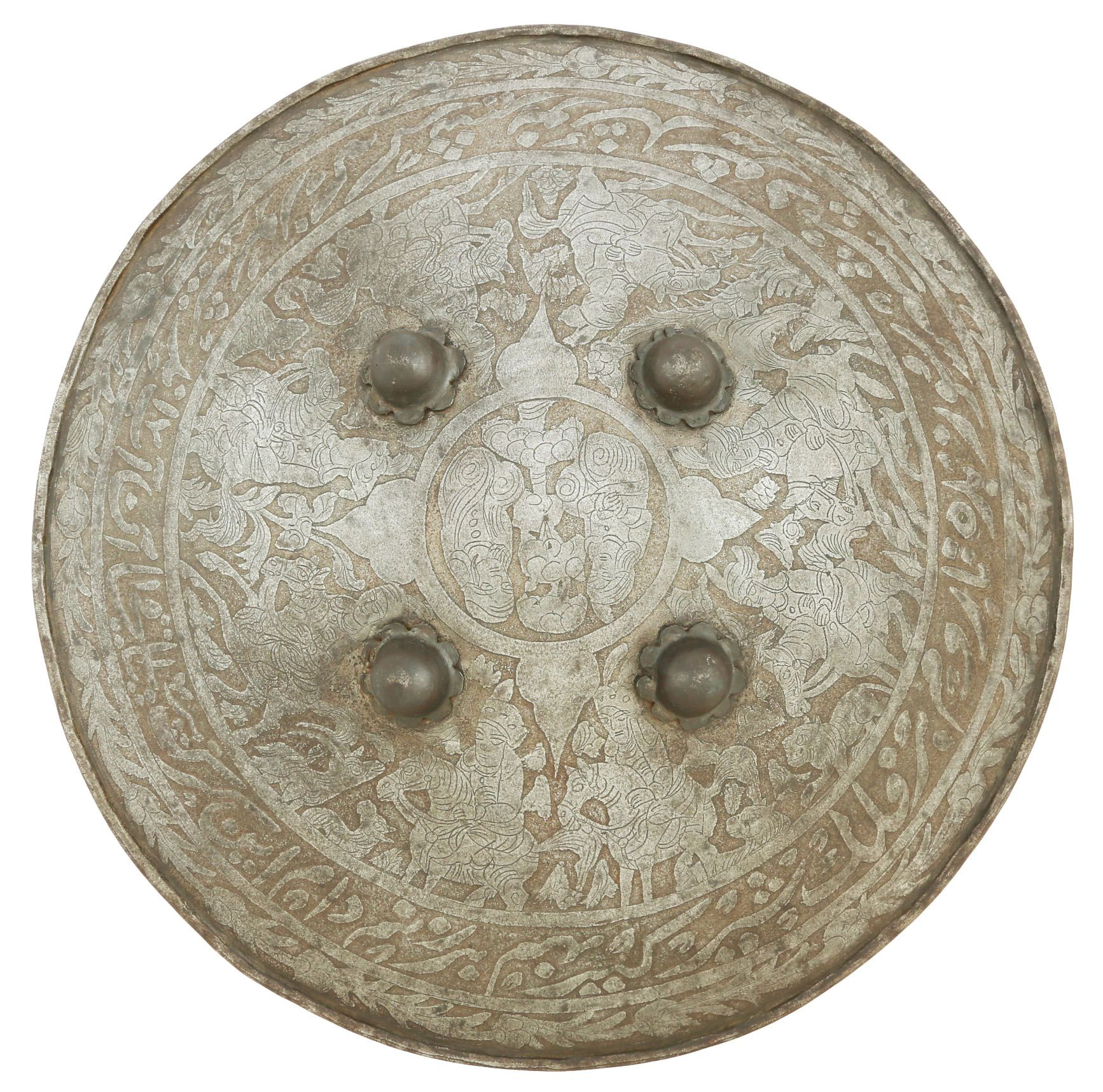 Indopersian Iron Shield - Product