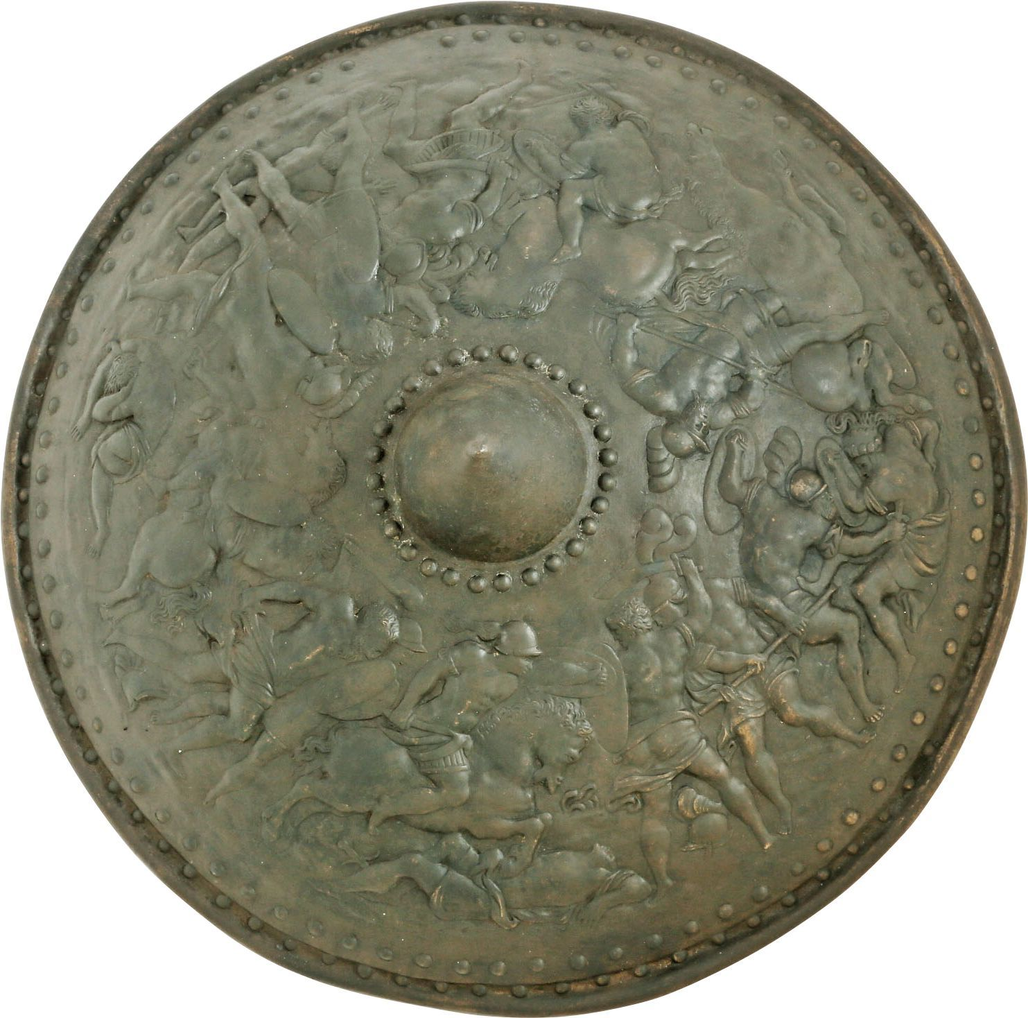 Fine Victorian Copy Of A Renaissance Iron Shield - Product