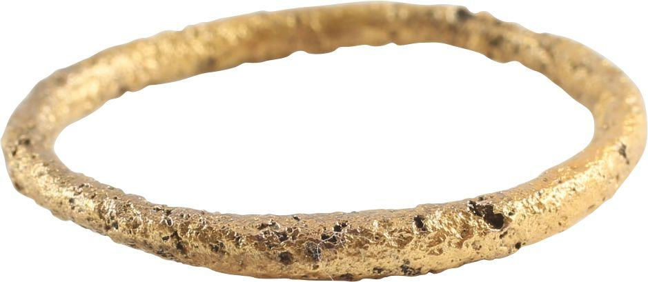 Ancient Viking Mans Wedding Ring C.866-1067 Ad Size 10 - Product