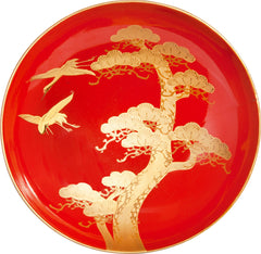 Fine Japanese Lacquered Sweets Bowl - Product