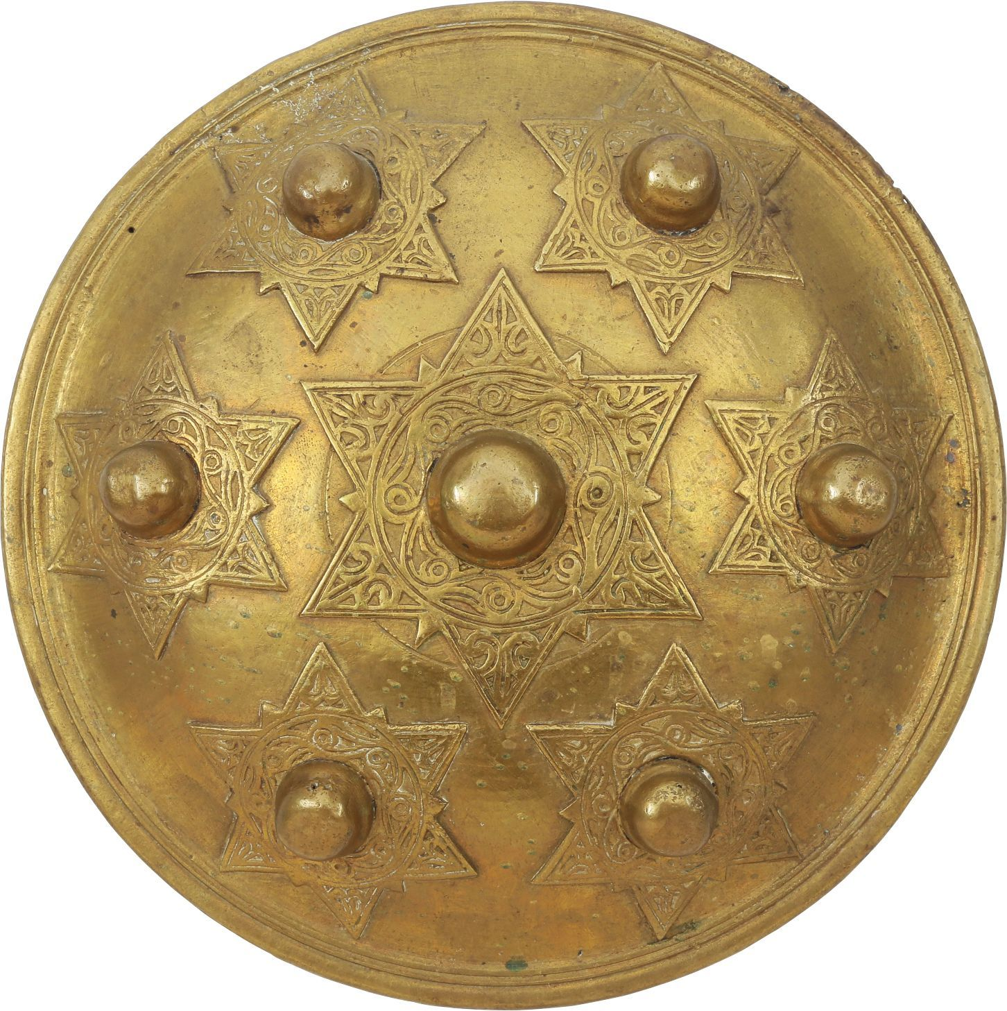 Batak Brass Shield - Product