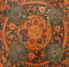 Fine Indopersian Painted Hide Shield Buckler - Product