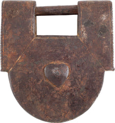 IRON SLAVE LOCK, 18th-19th CENTURY