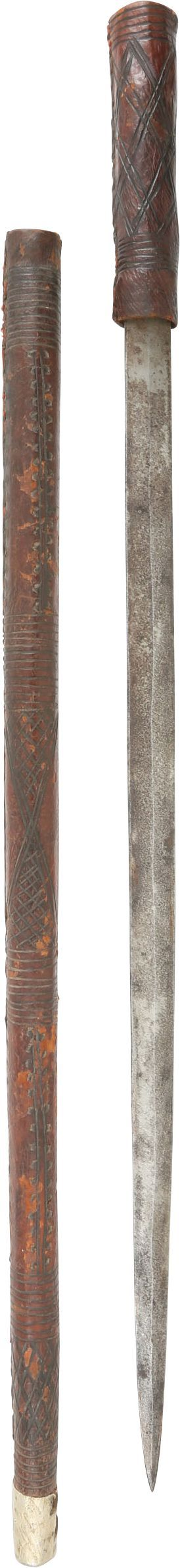 East African Concealed Sword Stick - Product