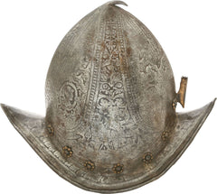 A NORTH ITALIAN PEAKED MORION C.1580 - Fagan Arms
