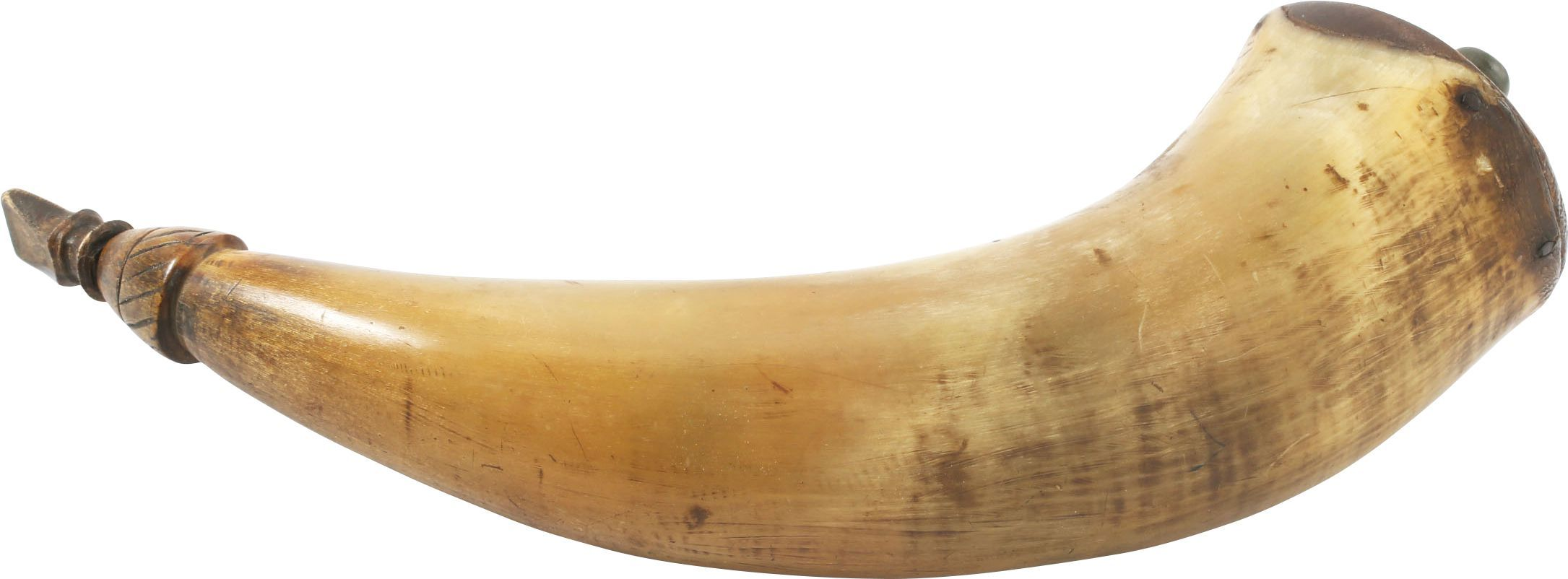Good Revolutionary War Powder Horn - Product