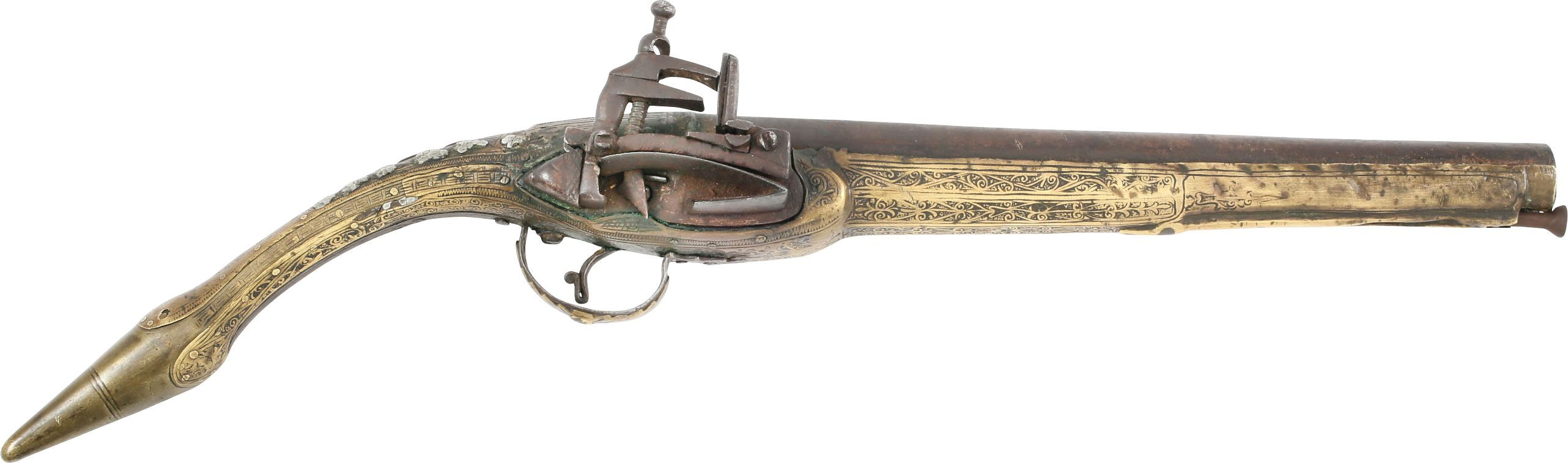 ALBANIAN (OTTOMAN) MIQUELET LOCK PISTOL C.1800-EARLY 19th CENTURY - Product
