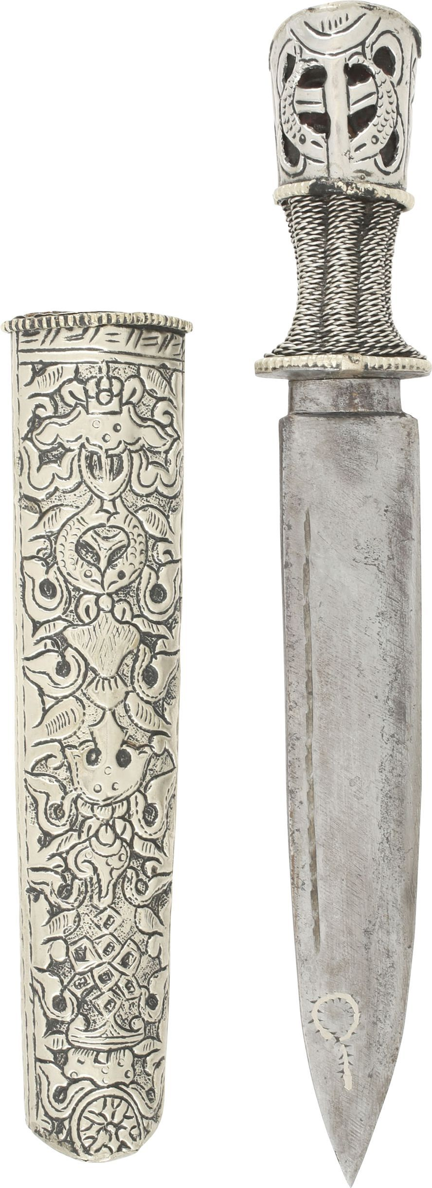 TIBETAN BELT KNIFE C.1800 - Fagan Arms