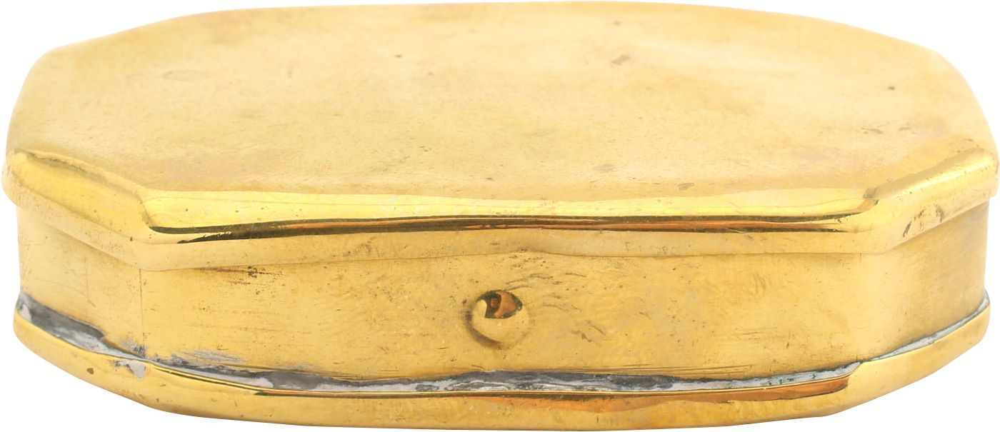 COLONIAL AMERICAN TOBACCO BOX. C. 1750-70 - Product
