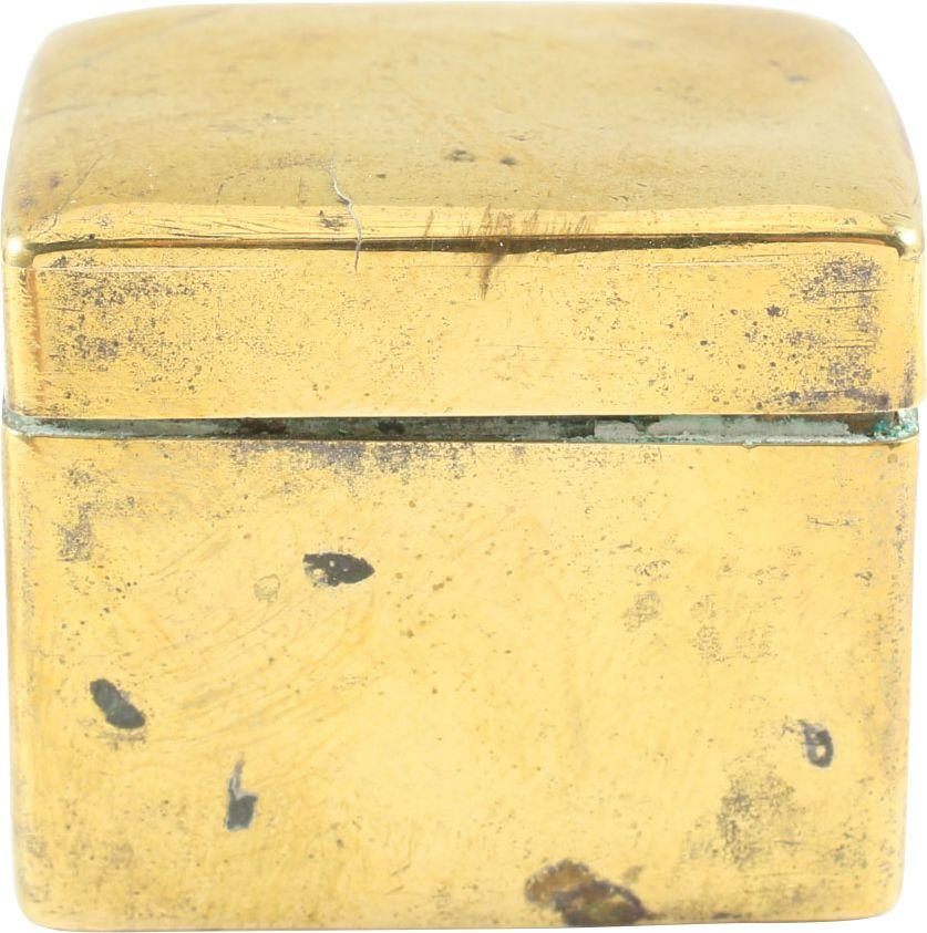 COLONIAL AMERICAN PILL OR VALUABLE BOX C.1775 - Product