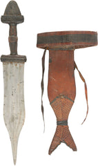 SUDANESE ARM DAGGER LATE 19TH CENTURY ANGLO-SUDANESE WAR PERIOD - Product