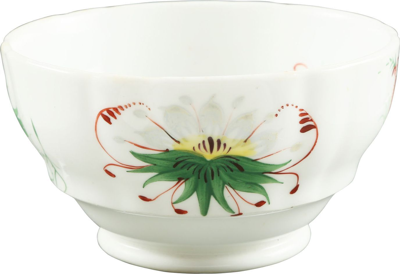 ENGLISH EXPORT PORCELAIN TEA BOWL