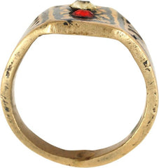 COSSACK WARRIOR'S RING SIZE 8 - Fagan Arms
