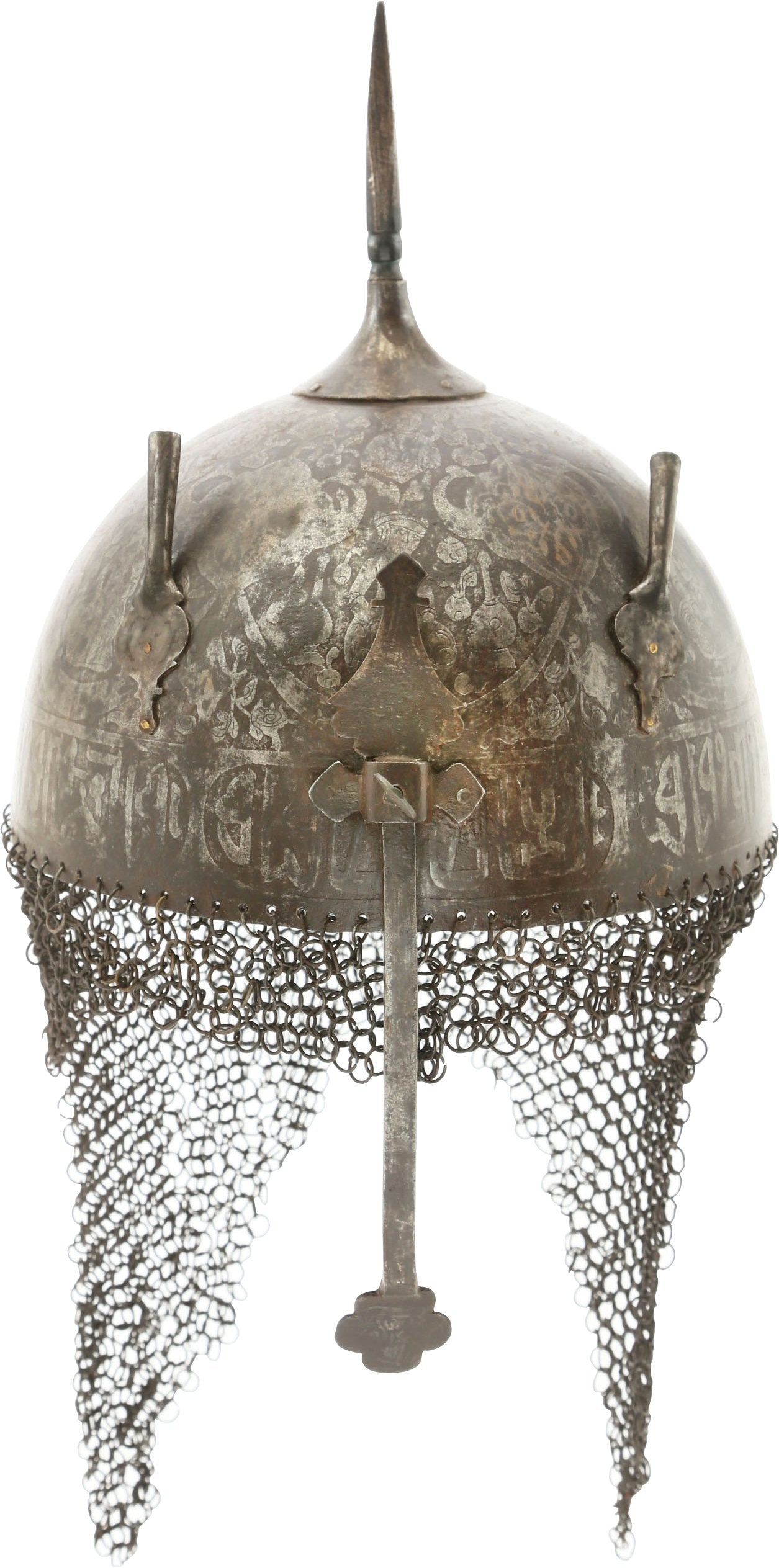 INDOPERSIAN HELMET KULAH KHUD - Fagan Arms