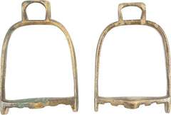 PAIR OF INDO-PERSIAN STIRRUPS - Fagan Arms