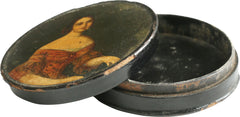 ENGLISH SNUFF BOX, REGENCY/NAPOLEONIC PERIOD. C.1790-1800