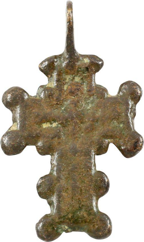 BYZANTINE BRONZE CROSS, 7th-11th century AD - Fagan Arms