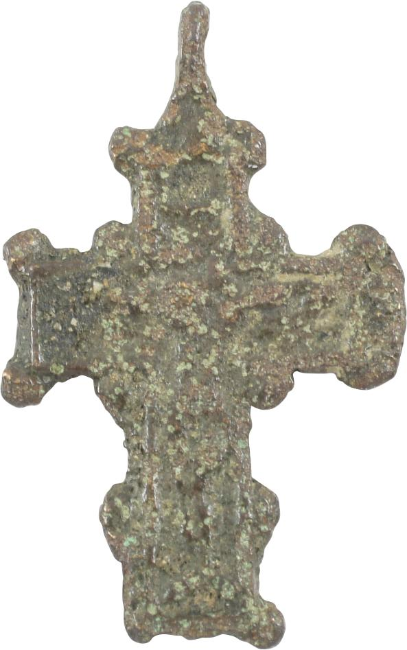 MEDIEVAL BRONZE CROSS. 1300-1450 - Fagan Arms