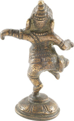 HINDU BRONZE FIGURE FOR HOME SHRINE WORSHIP