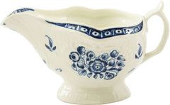 DR. WALL PERIOD WORCESTER SAUCE BOAT
