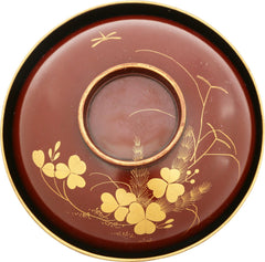 JAPANESE LACQUERED BOWL OWAN, MEIJI PERIOD