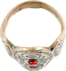 COSSACK HORSEMAN'S RING 19th CENTURY.