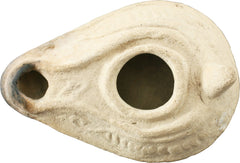 EARLY CHRISTIAN OIL LAMP. 5th-6th century AD. - Fagan Arms