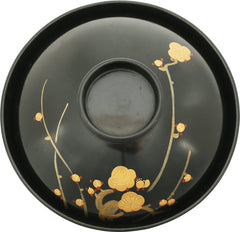 JAPANESE LACQUER BOWL AND COVER - Fagan Arms