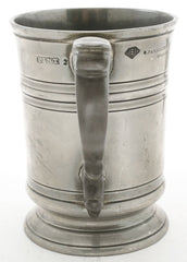 VICTORIAN PEWTER PUB PINT MUG - Fagan Arms