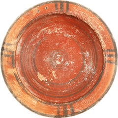 CYPRIOT TERRACOTTA BOWL - Fagan Arms