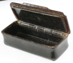 COLONIAL AMERICAN TABLE TOP SNUFF BOX C.1770