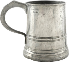 VICTORIAN PEWTER PUB MUG. From the movies! Ex: stock of Ken Paul Ltd