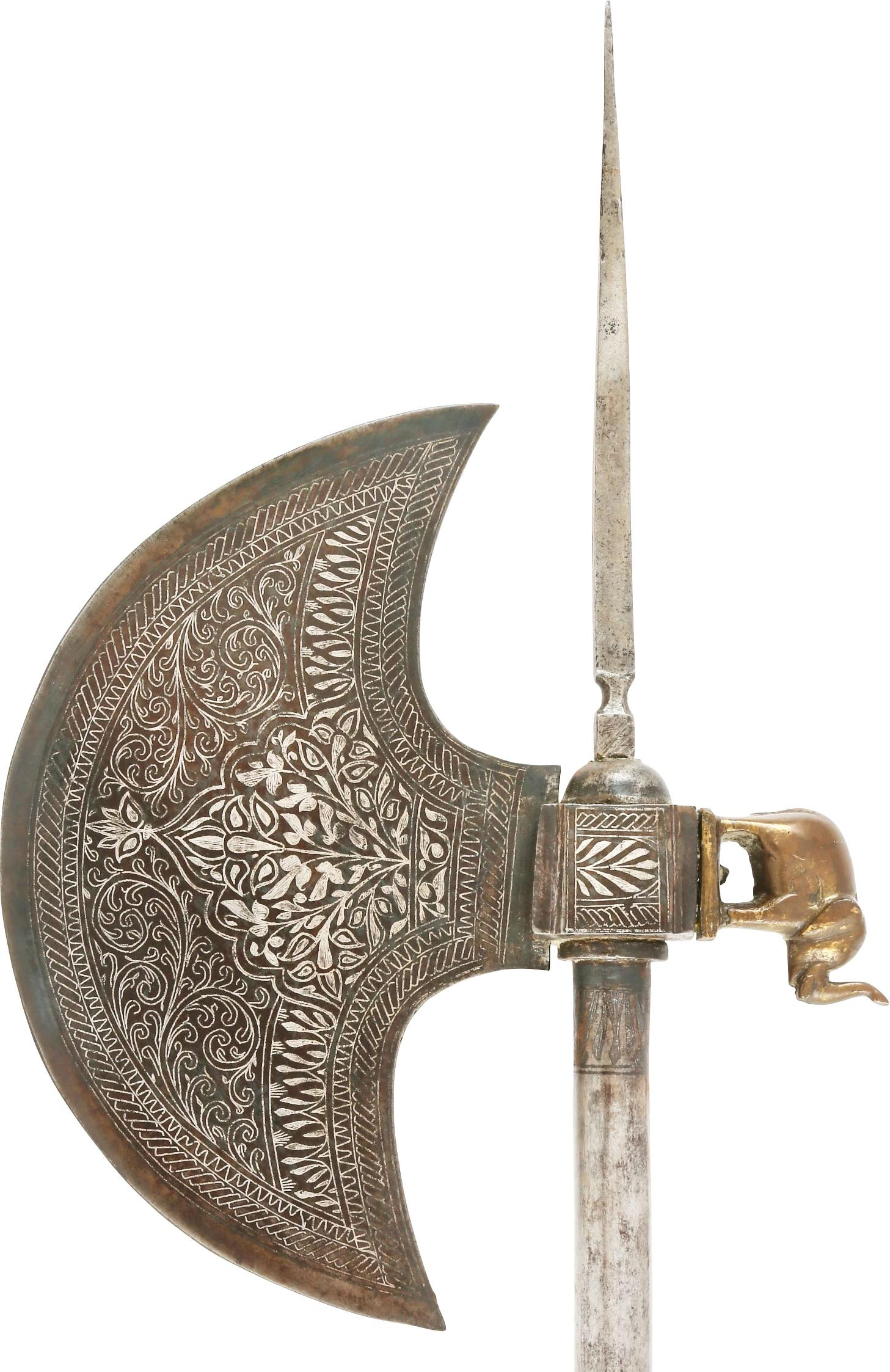 INDOPERSIAN BATTLE AXE.