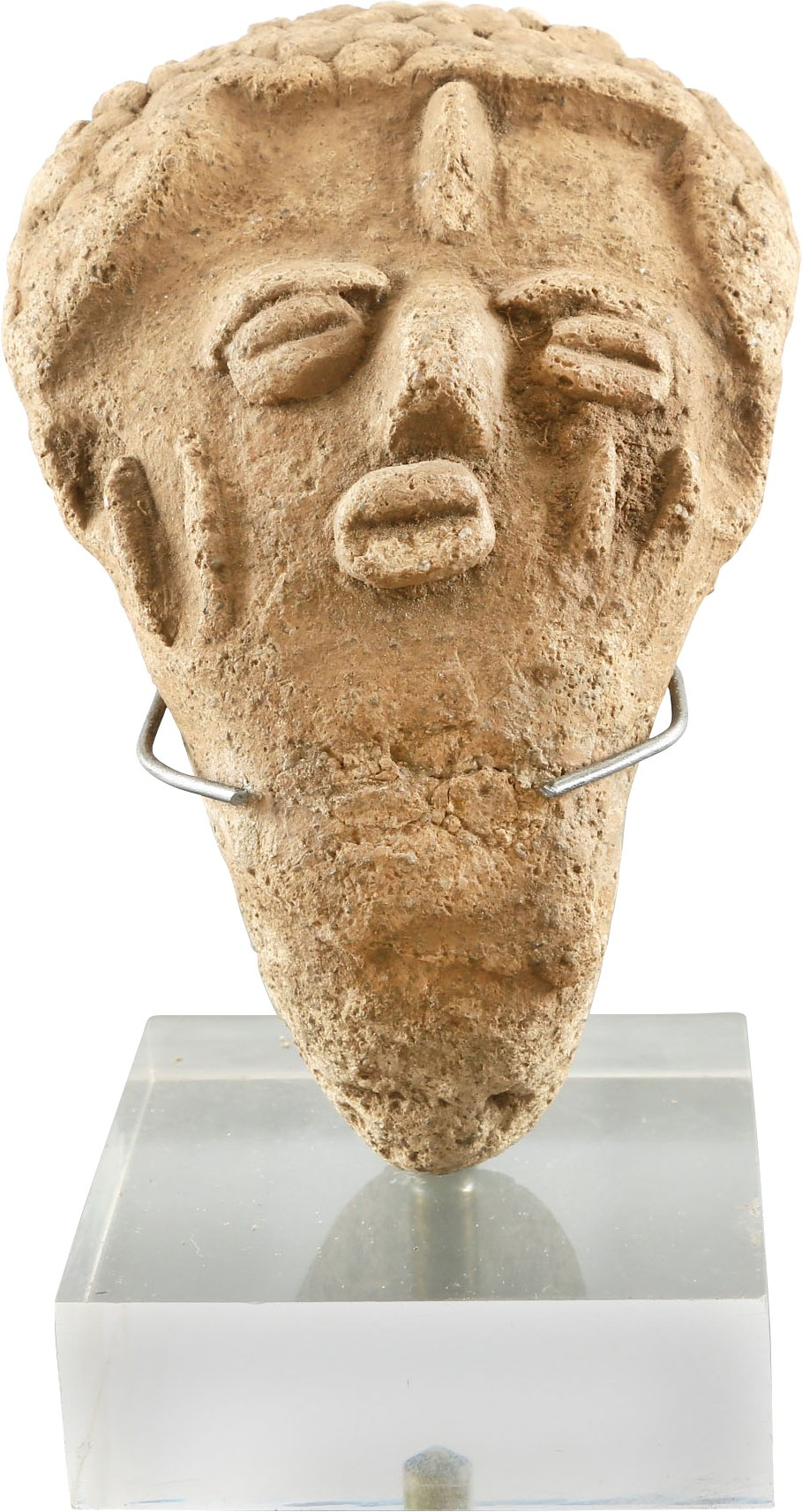 WEST AFRICAN FUNERARY HEAD - Fagan Arms