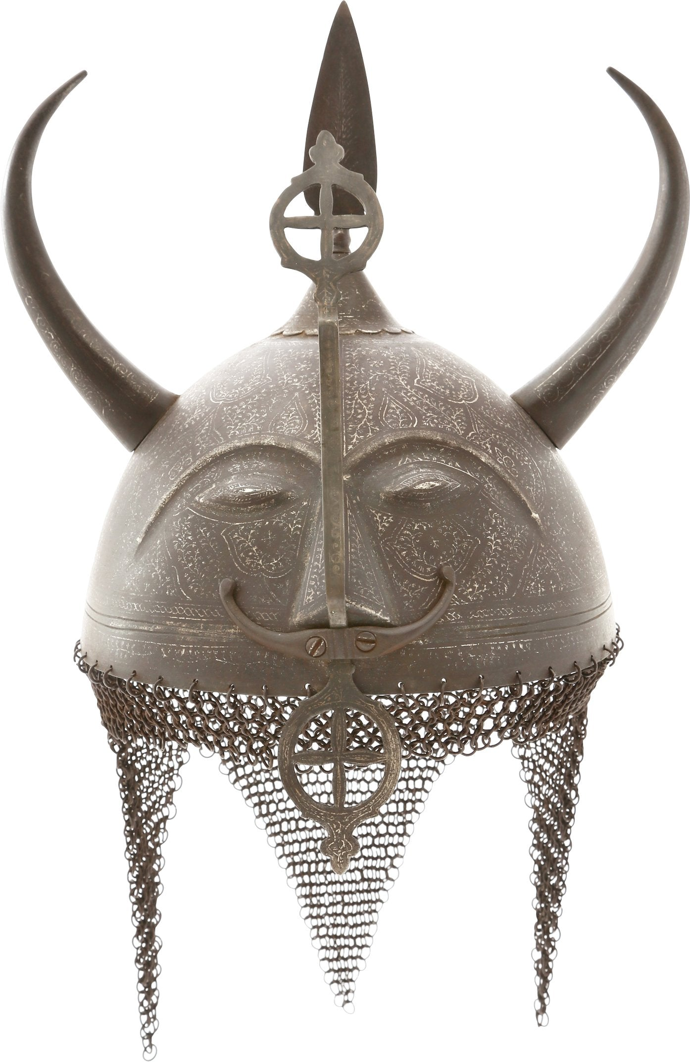 INDOPERSIAN DEVIL'S HEAD KULAH KHUD